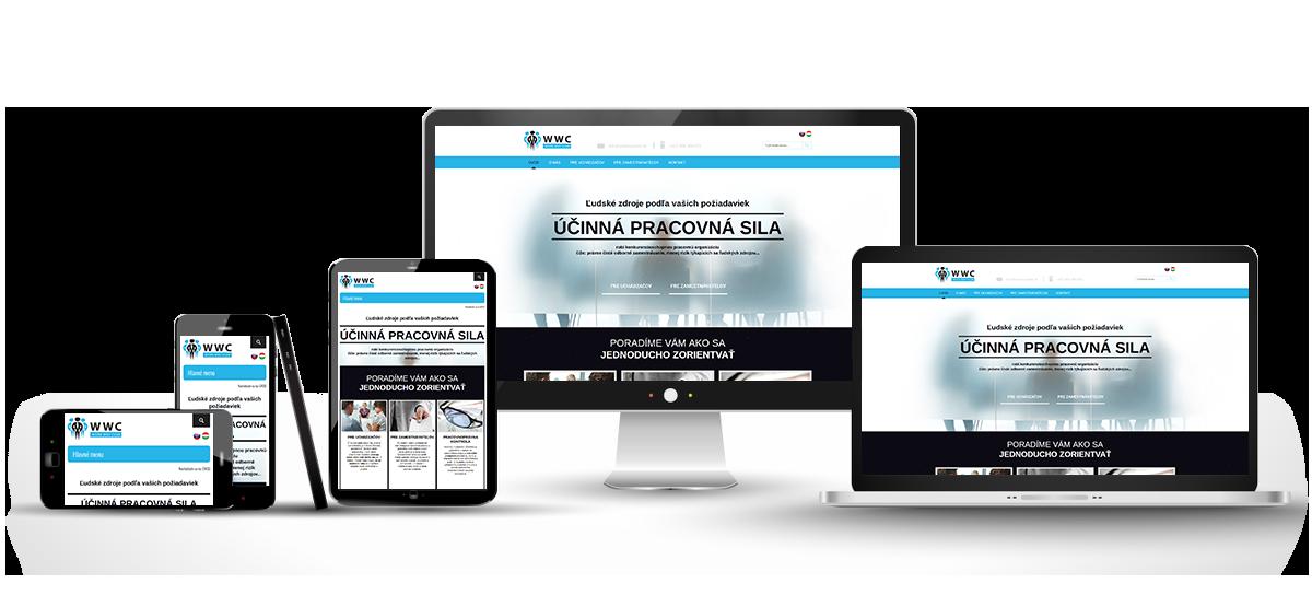 responzívny dizajn stránky www.workwayclub.sk