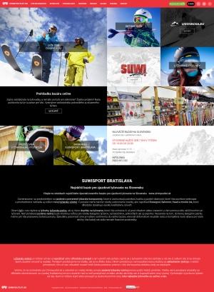 Webpräsentation für Zimný Outlet