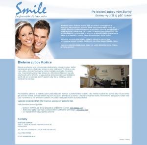 Web presentation for Dentálne centrum