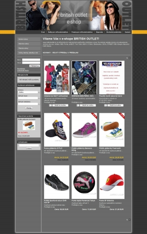 Online shop British Outlet