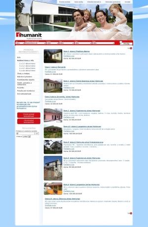 Webpräsentation für Humanit