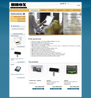 Online shop for BBOX Computer s.r.o.