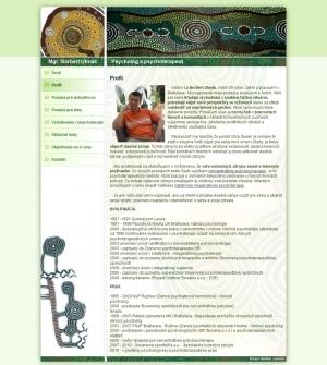 Web presentation for Mgr.Norbert Uhnák