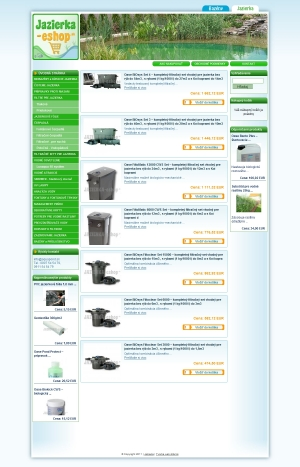 Online shop Jazierka-Eshop.sk