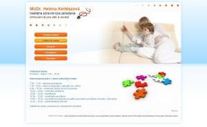 Webpräsentation - MUDr. Kertészová