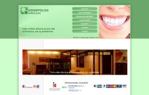 Webpräsentation für ODONTOLOG s.r.o.