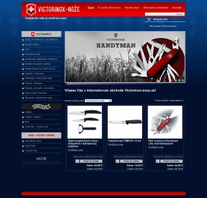 Internetgeschäft  Victorinox-noze.sk