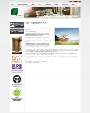 Web presentation for www.CocoMosiac.eu