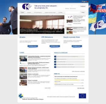 Web portal for CPK Michalovce