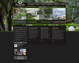 Webpräsentation für Parmelia-VM s.r.o.