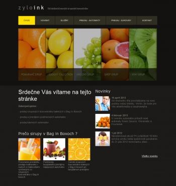 Online shop www.zylo.sk