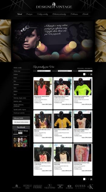 Online shop for DESIGNER VINTAGE
