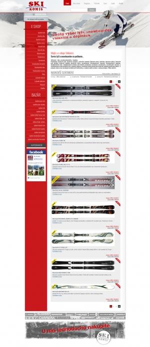Online shop for Ski Komis