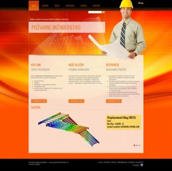 Webpräsentation - www.poziarneinzinierstvo.sk