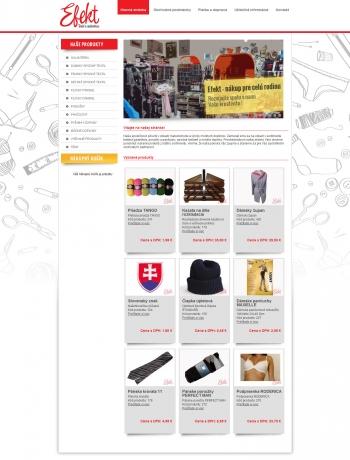 Online shop for Eva Kucharovičová - EFEKT