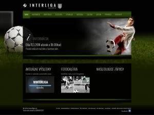 Webpräsentation für Galantská Interliga o.z.