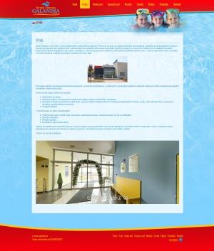 Webpräsentation für GALANDIA, spol. s r.o.