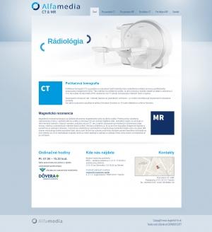 Webpräsentation für Alfamedia