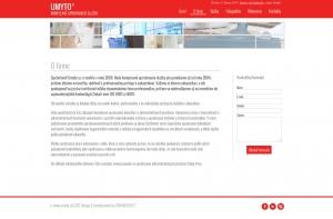 Web presentation for UMYTO s. r. o.