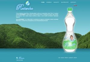 Webpräsentation für Aqualife, s.r.o.