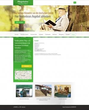 Webpräsentation für MONARK s.r.o.