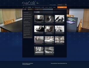 Webpräsentation - www.crystalclub.sk