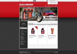 Webpräsentation - www.olej-eshop.sk