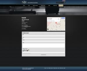 Web presentation www.advokathorvath.sk
