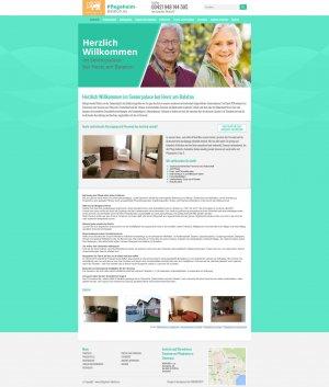 Web presentation www.pflegeheim-balaton.eu