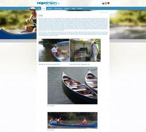 Webpräsentation - www.vodnetury.sk