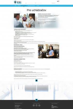Webpräsentation - www.workwayclub.sk