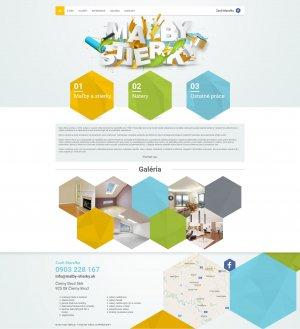 Web presentation www.malby-stierky.sk