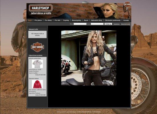 Internetový obchod Harleyshop