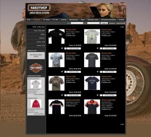Internetgeschäft Harleyshop
