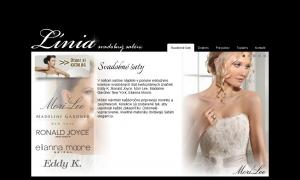 Webpräsentation für Salon Linia