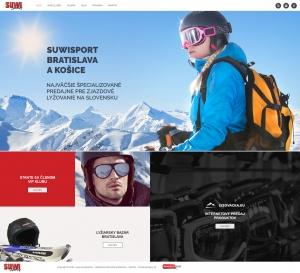 Webpräsentation für SuwiSport